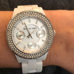 Michael Kors Watch - White
